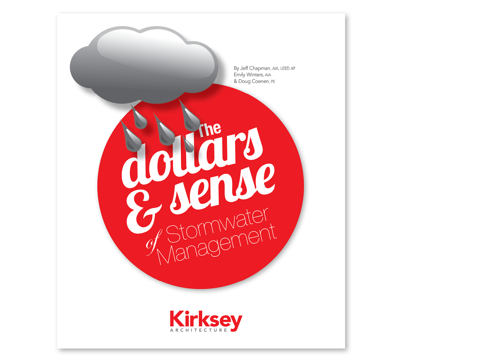 Preview of the resource library item for The Dollars & Sense of Stormwater Management