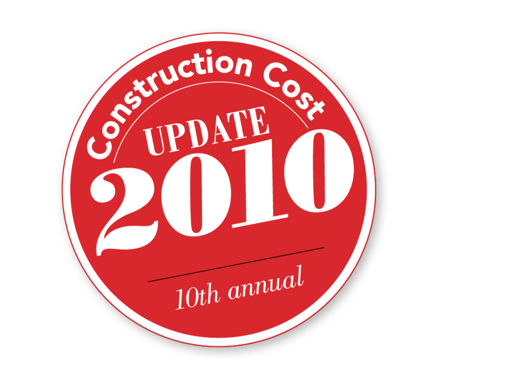 Preview of the resource library item for Kirksey Annual Construction Cost Update 2010
