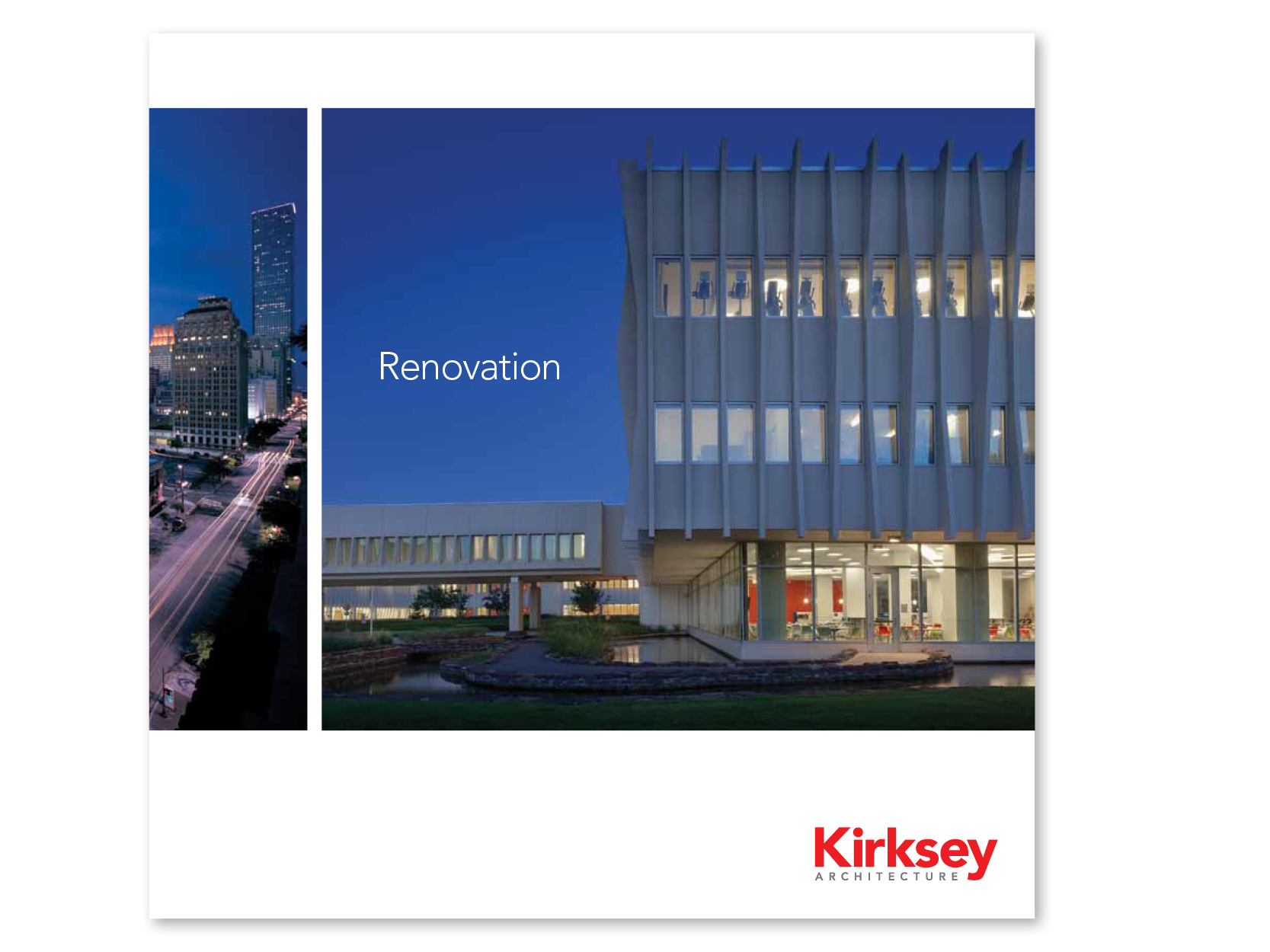 Preview of the resource library item for We're Kirksey Renovation