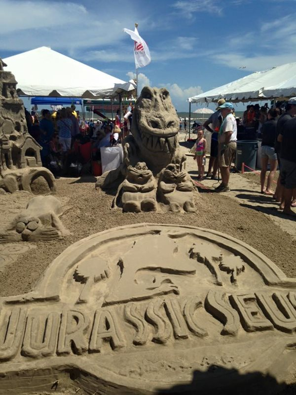 Image for Kirksey Wins Golden Bucket at AIA Sandcastle Competition!